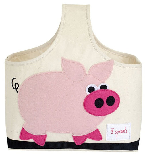 3 Sprouts Storage Caddy - Pig
