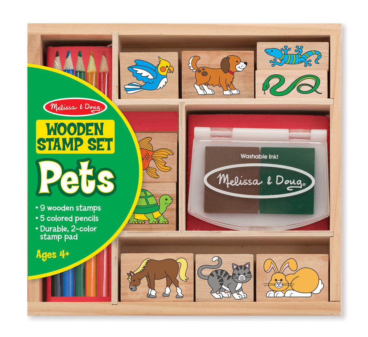 Melissa & Doug Stamp Set: Pets