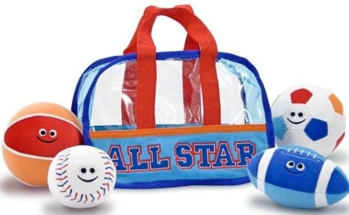 Melissa & Doug Sports Bag Fill and Spill