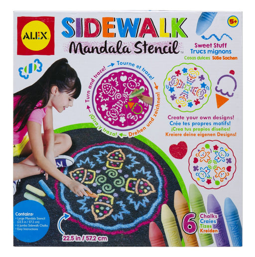 Alex Sidewalk Mandala-Sweet Stuff