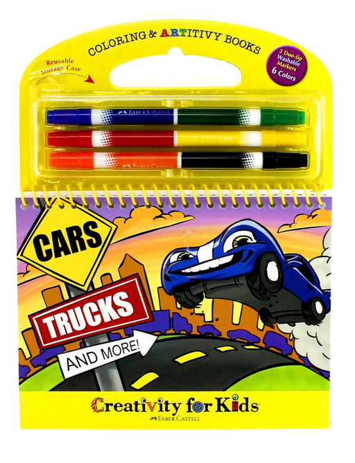 Creativity for Kids Cars, Trucks and More!