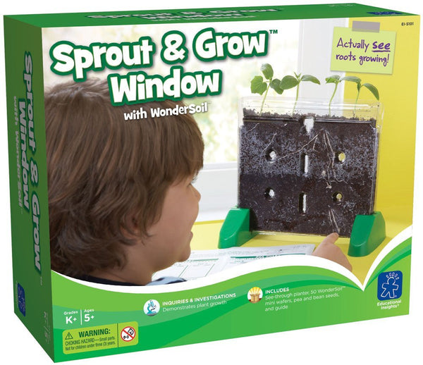 Educational Insights GeoSafari Sprout and Grow Window