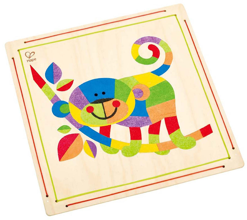 Hape Monkey Business Sand Art