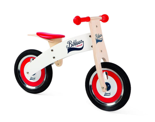 Janod Red and White Balance Bike