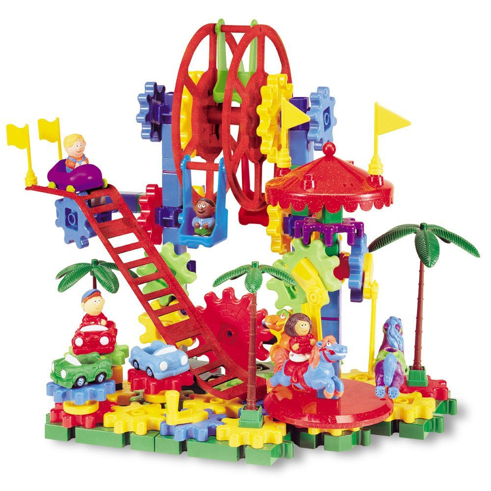 Learning Resources Dizzy Fun Land Motorized Building Set