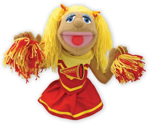 Melissa & Doug Puppet-Cheerleader