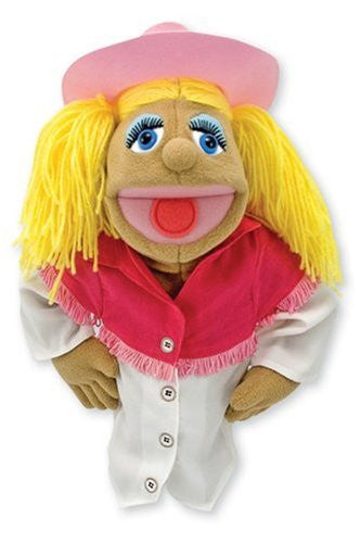 Melissa & Doug Puppet-Cowgirl