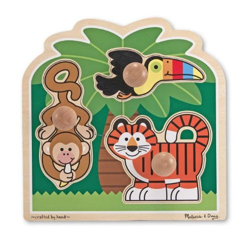 Melissa & Doug Rainforest Friends Jumbo Knob