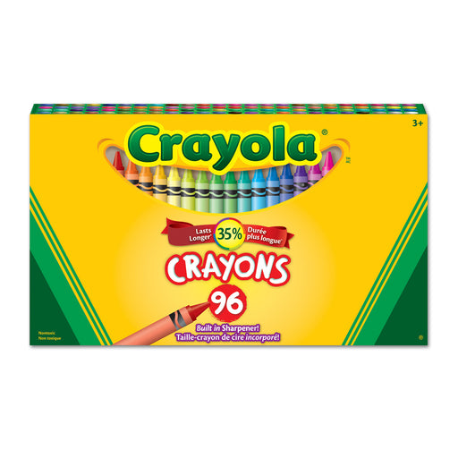 Crayola Classic Colour Pack Crayons-96 Colours