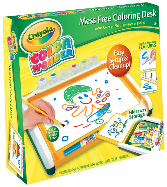 Crayola Colour Wonder Mess Free Coloring Desk