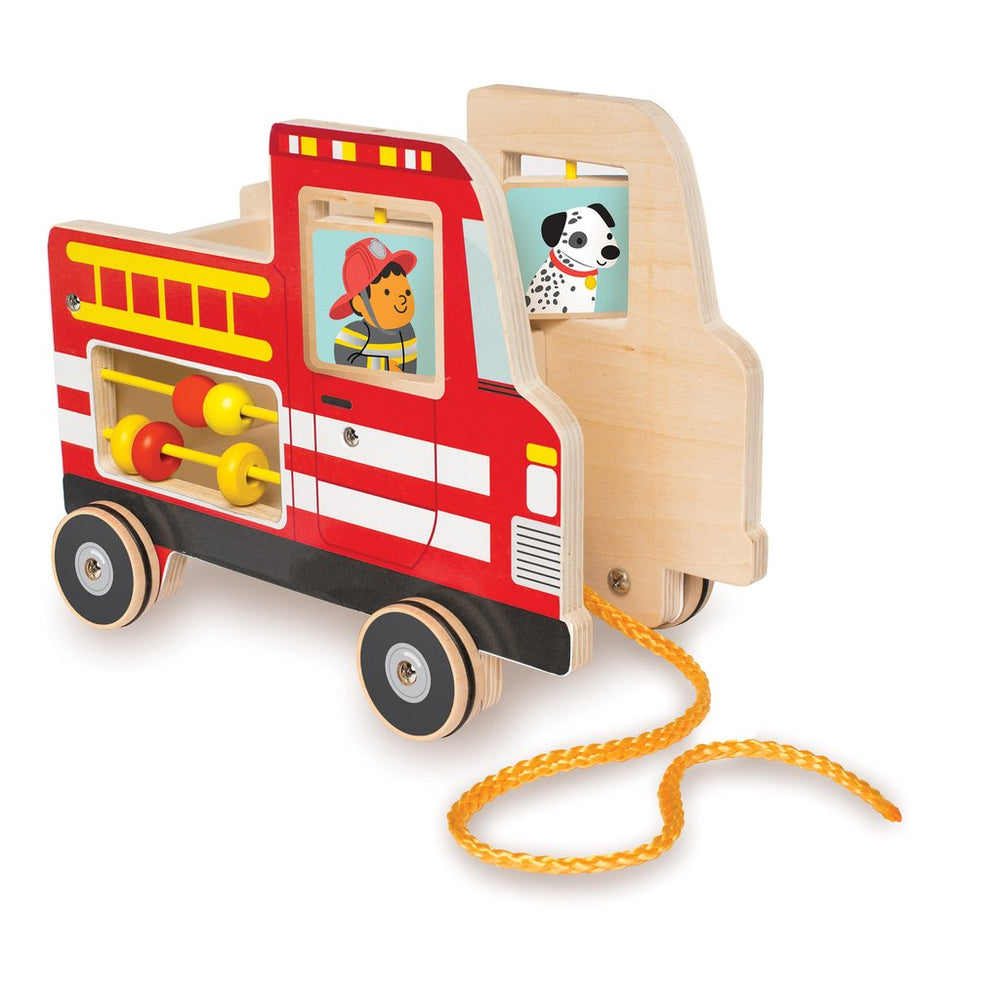 Manhattan Toys Firetruck Pull Toy