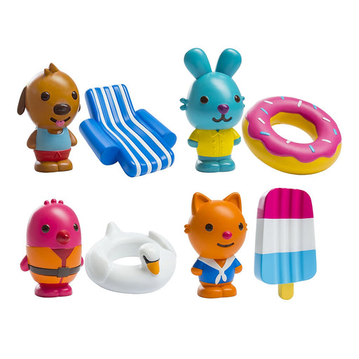 Sago Mini Easy-Clean Bath Squirters 8pc Set