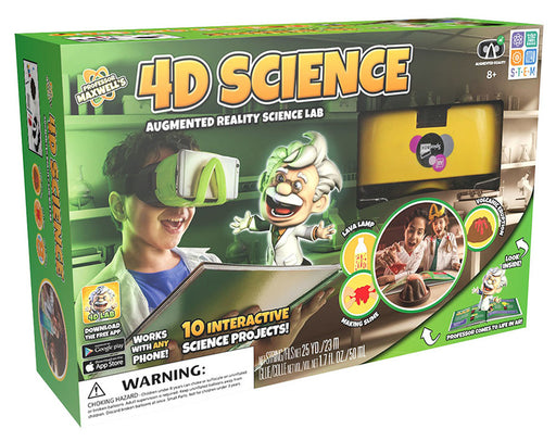 Professor Maxwell's 4D Science Lab