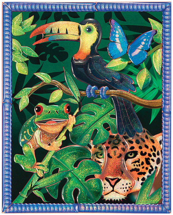 Melissa & Doug Petite Peel & Press Sticker by Number - Rain Forest