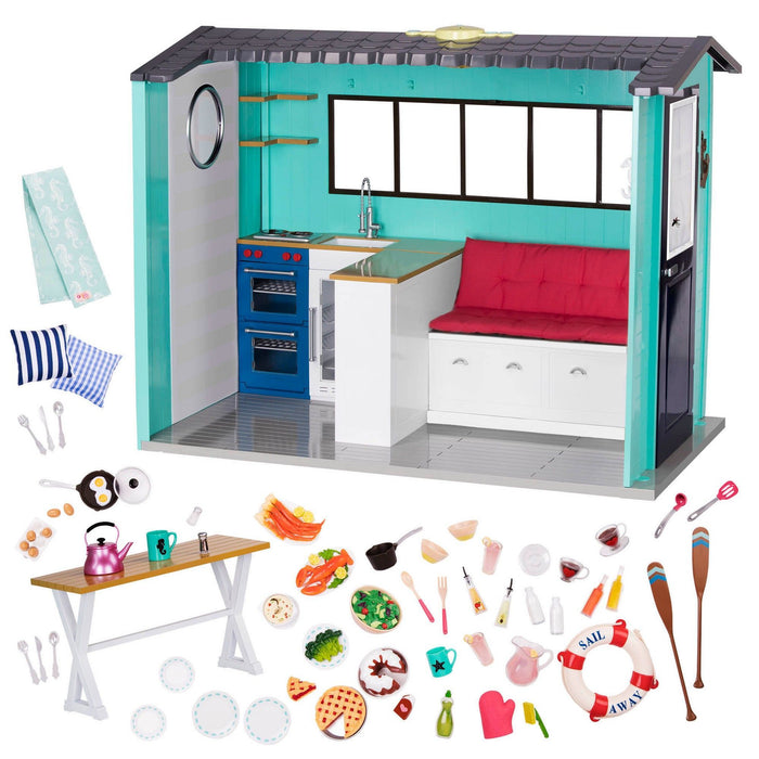Our Generation Seaside Beach House Set