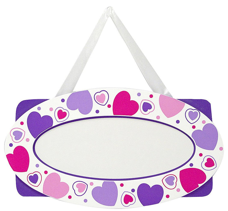 Melissa & Doug Hearts Door Plaque