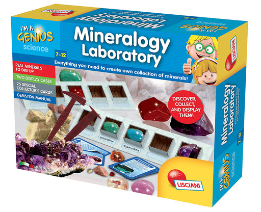 I'm A Genius Laboratory of Mineralogy