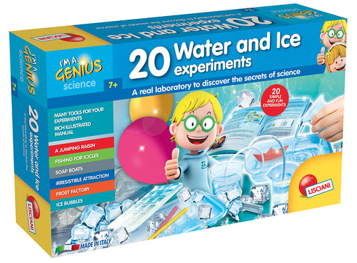 I'm A Genius 20 Water and Ice Experiments