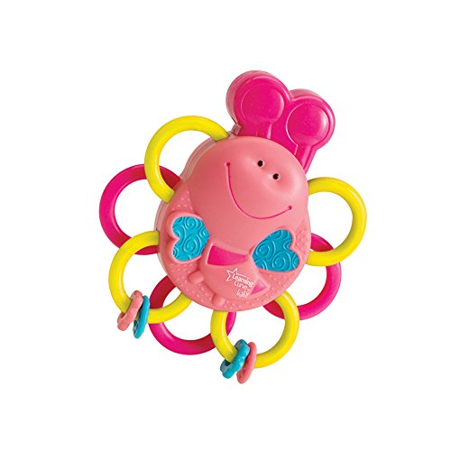 Buzzing Bee Massaging Teethers (Pink) - TOMY