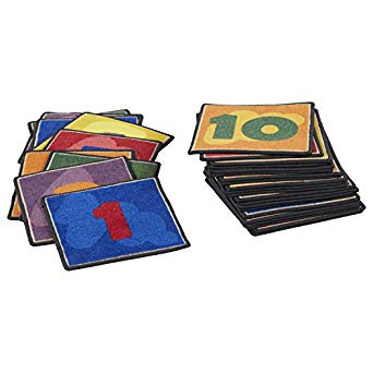 1-2-3 Carpet Squares 30-Piece