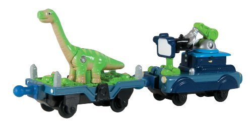 Chuggington Die Cast Dinosaur and Camera Car