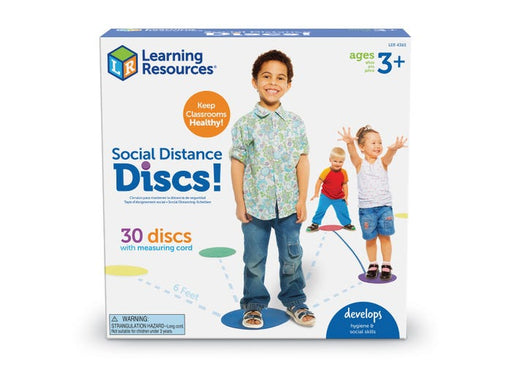 Learning Resources Social Distance Discs