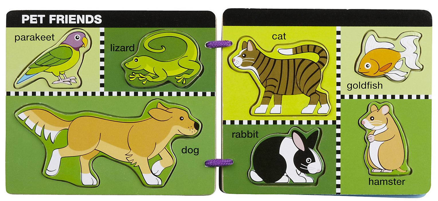 Melissa & Doug Animal Friends Scratch Art