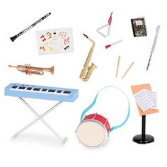 Our Generation School Band Play Set Deluxe