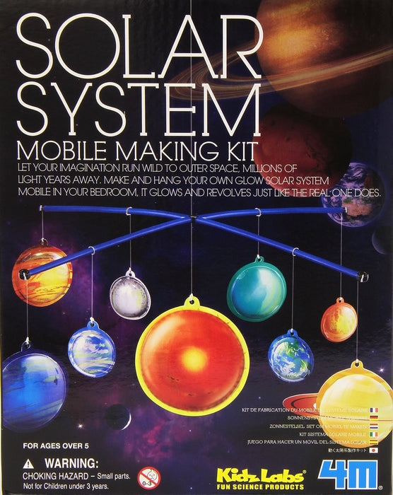 4M Solar System Mobile Making Kit
