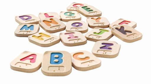 Plan Toys Braille Alphabet A-Z