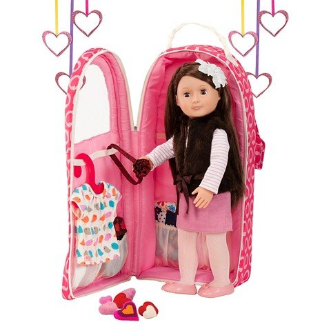 Our Generation Going My Way Doll Carrier for 18 Inch Doll  - Hearts