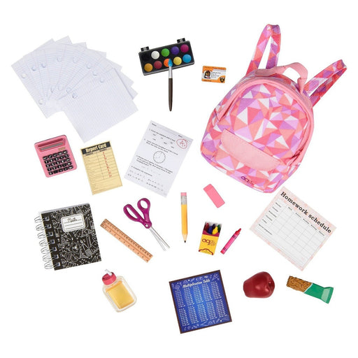 Our Generation School Supplies Play Set Deluxe