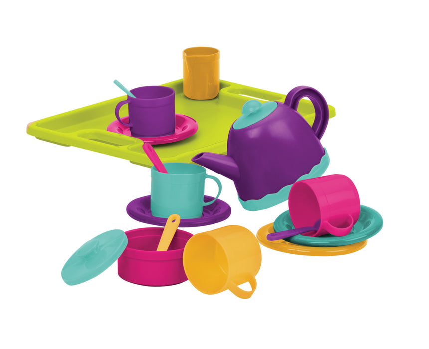 B. Toys Tea Party for 4, 18 pieces