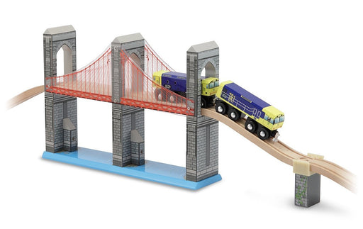 Melissa & Doug & Doug Skyline Suspension Bridge