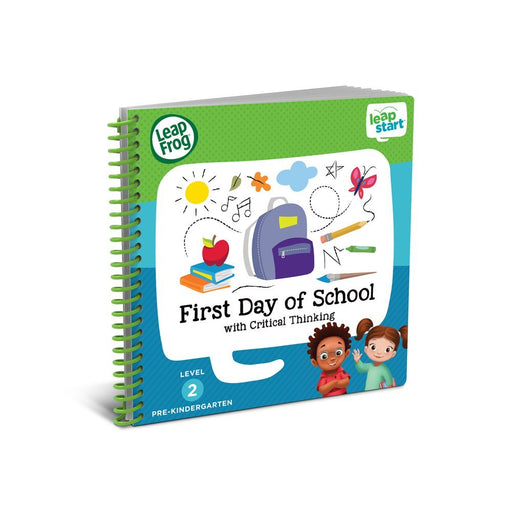 LeapFrog LeapStart Pre-K First Day of School Activity Book