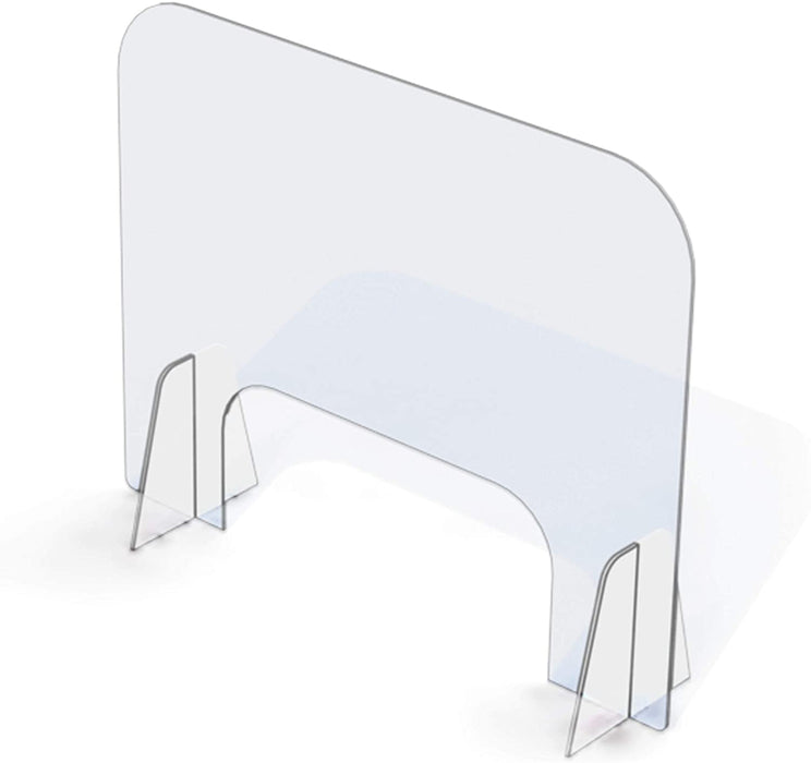 "Sneeze Guard Counter Top Shield Plexiglass (30""x 24"")"