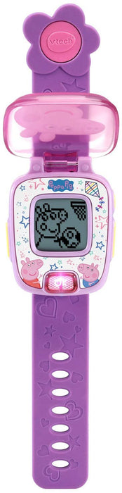 Vtech Peppa Pig Learning Watch (Purple)