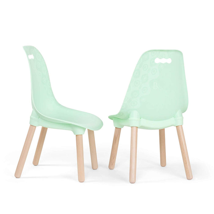 B. Toys Chairs mint 2 set