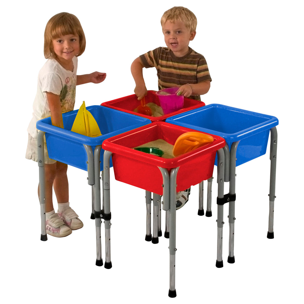 ECR4KIDS 4-Station Sensory Centre with Lids