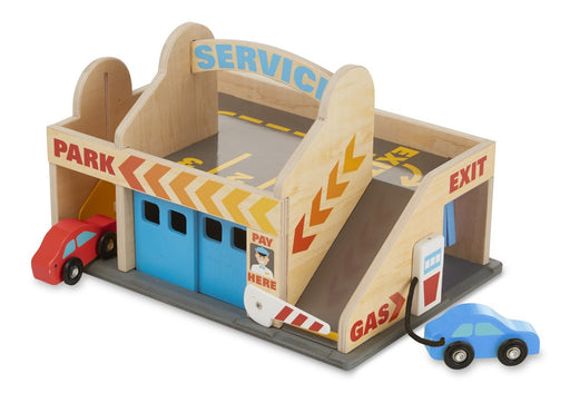 Melissa & Doug & Doug Service Station Parking Garage