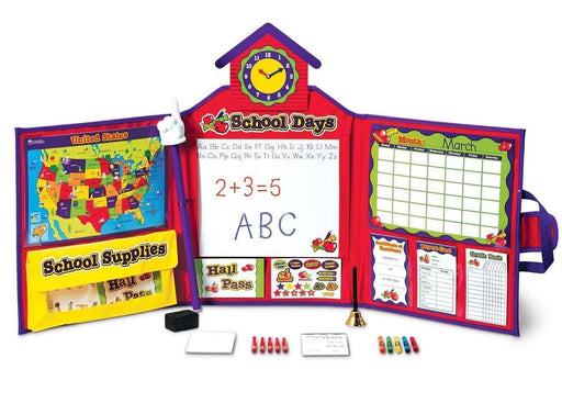Learning Resources Pretend & Play School Set (USA & World Map)