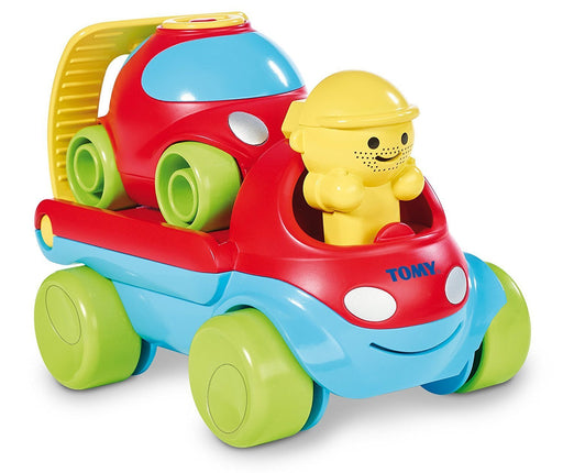 TOMY 3-in-1 Road Rescue Fix & Load Tow Truck