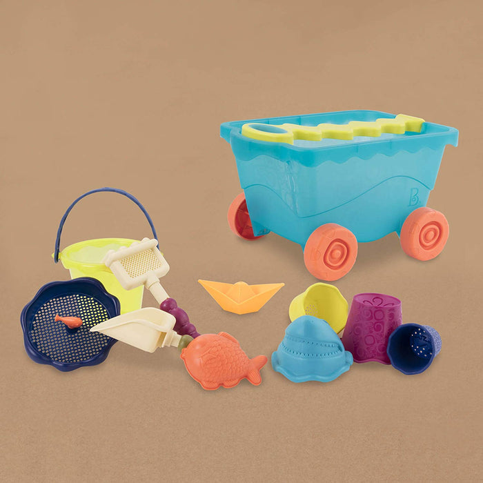 B. Toys Wavy-Wagon Blue and Accessories