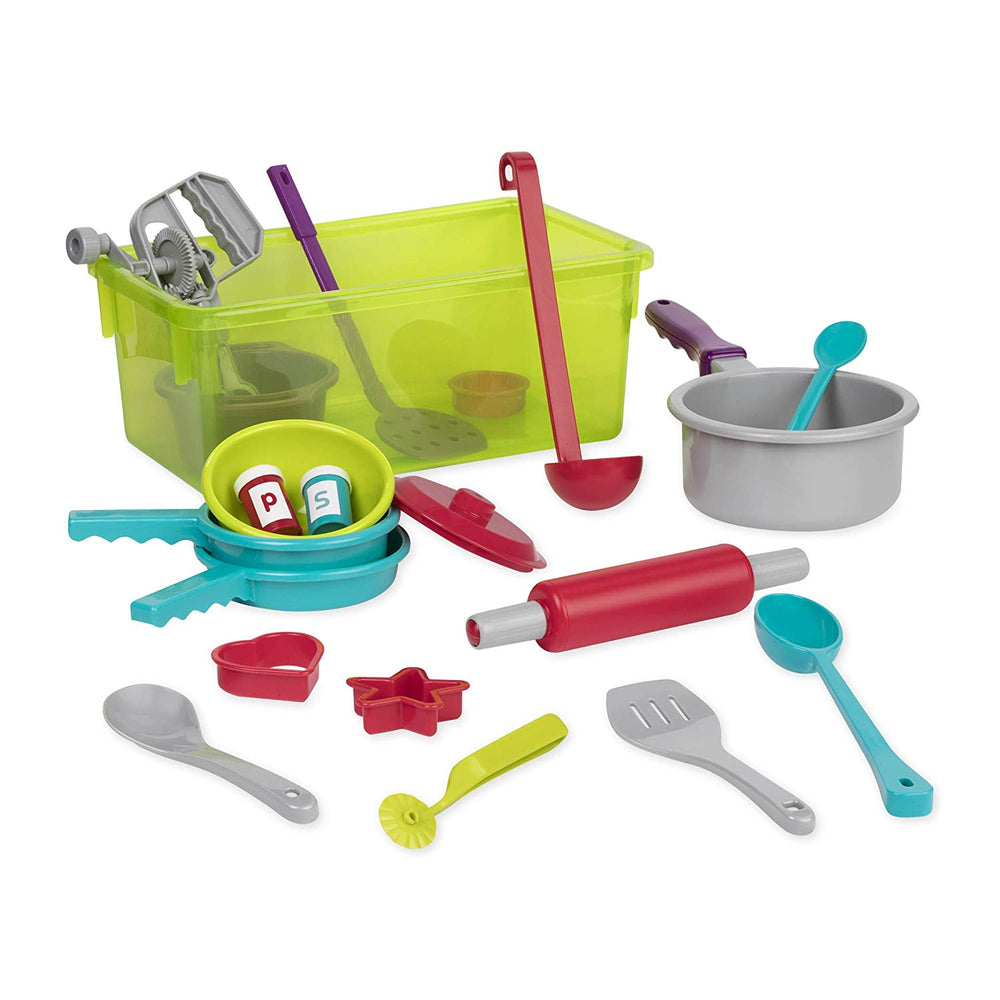 B. Toys Cooking Set (21 Pieces)