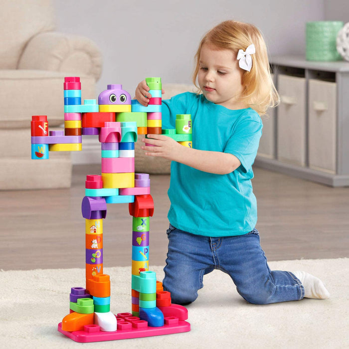 Leapfrog LeapBuilders® 81-Piece Jumbo Blocks Box™- Pink