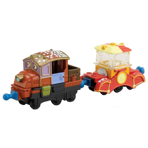 Chuggington Stack Track Popcorn Hodge with Popper Car