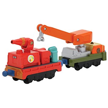Chuggington Stack Track Calley's Fire & Rescue Cars
