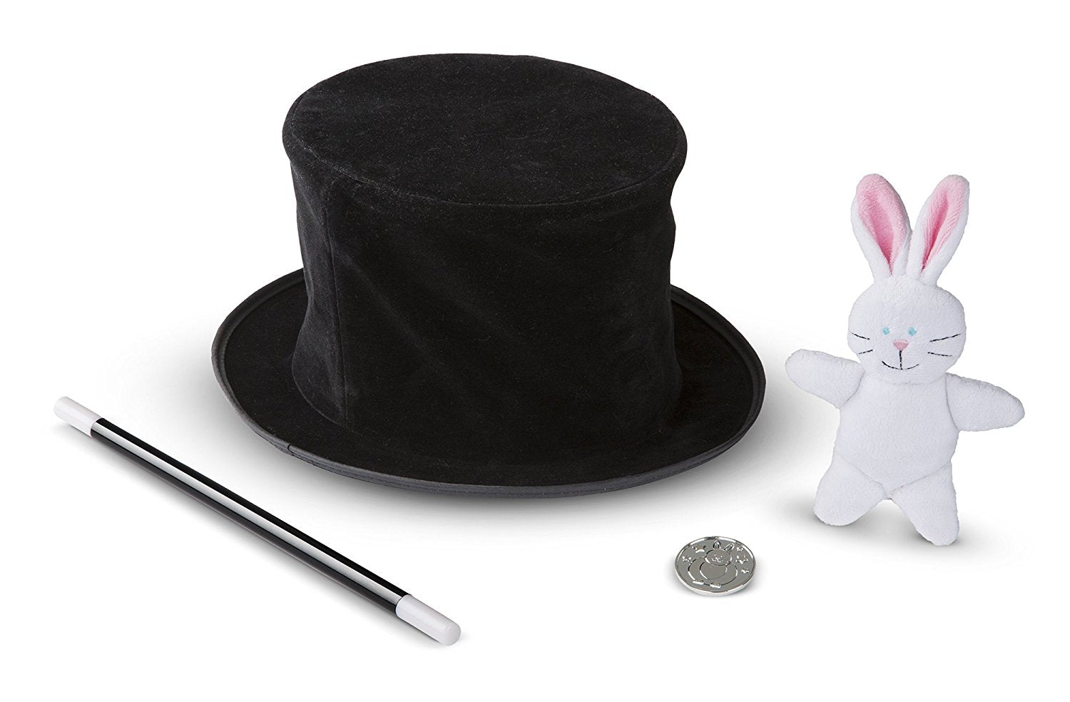 Melissa & Doug and Doug Magic in a Snap! Magician's Pop-Up Hat with Tricks