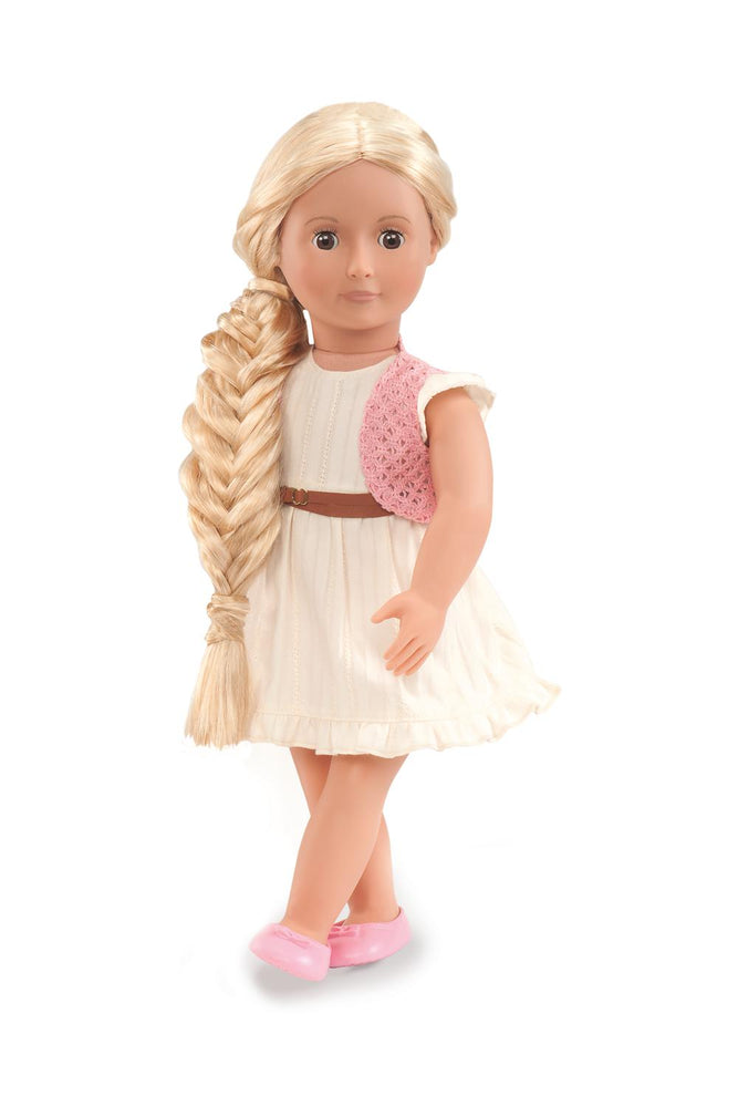 "Our Generation Doll Phoebe Hairgrow 18"" Doll"
