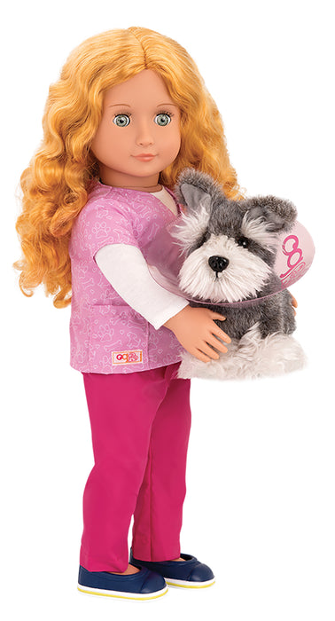 "Our Generation Deluxe Doll Anais Professional Vet 18"" Doll"